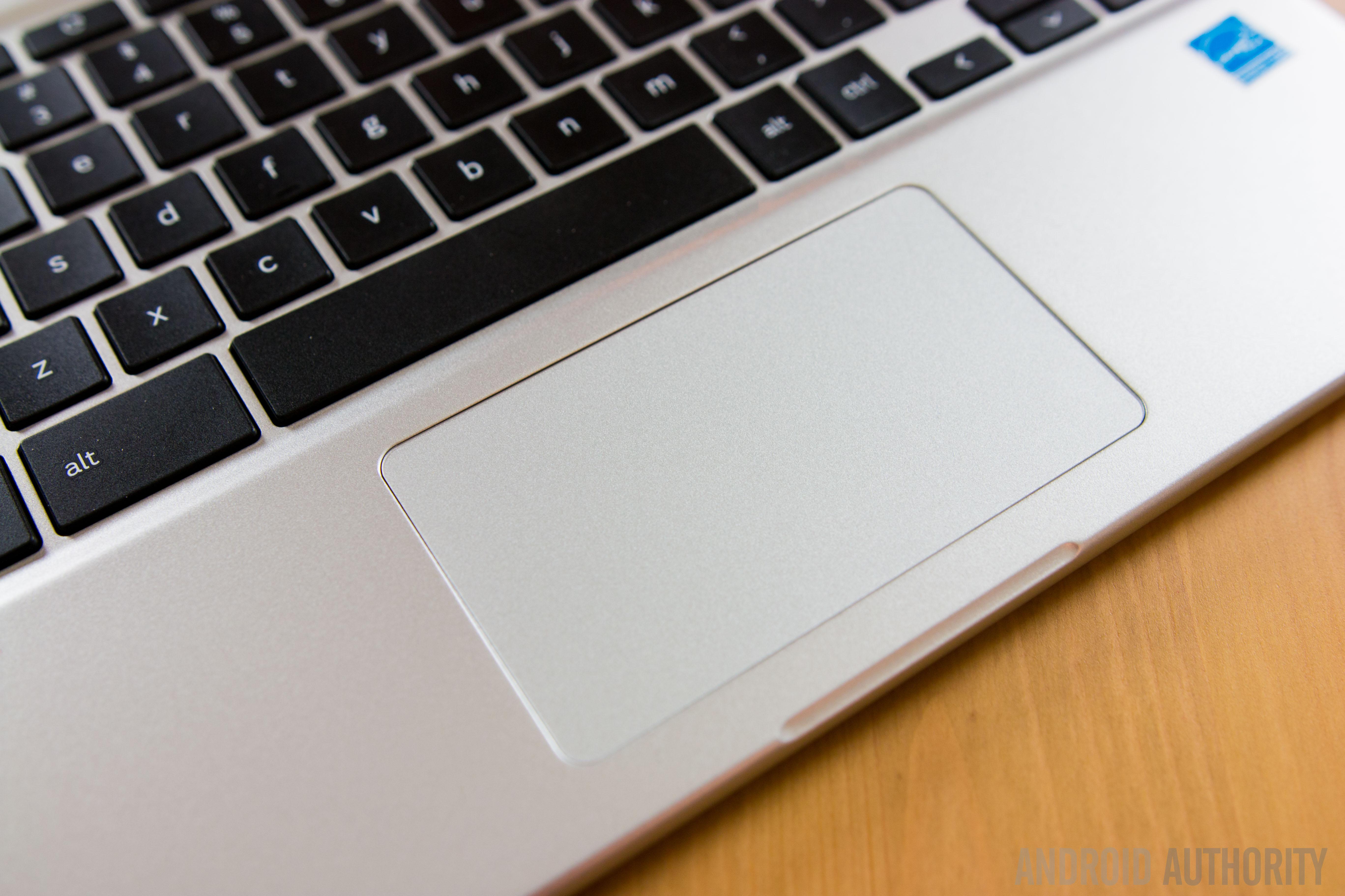 Chromebook trackpad