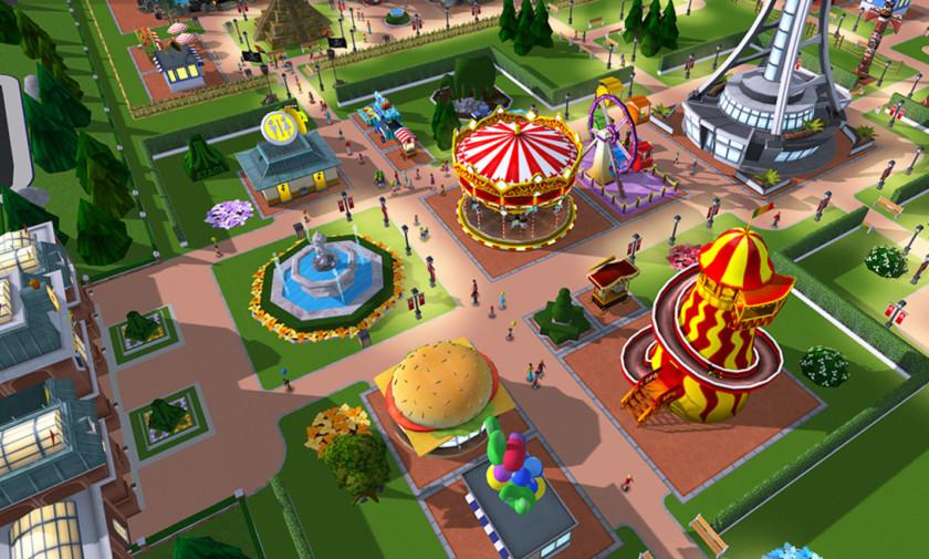 Roblox roller coaster theme park