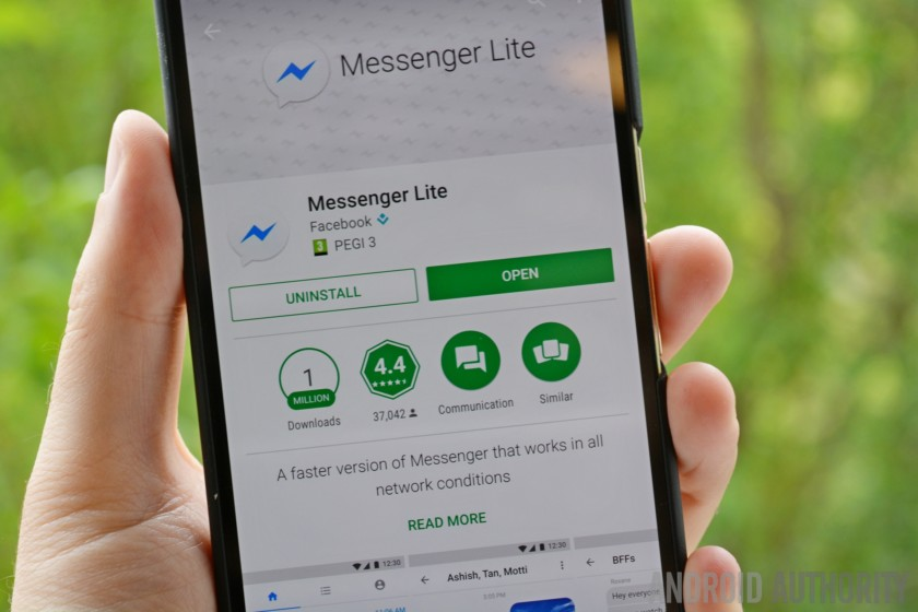 Facebook Messenger Lite is now available in 150 additional countries