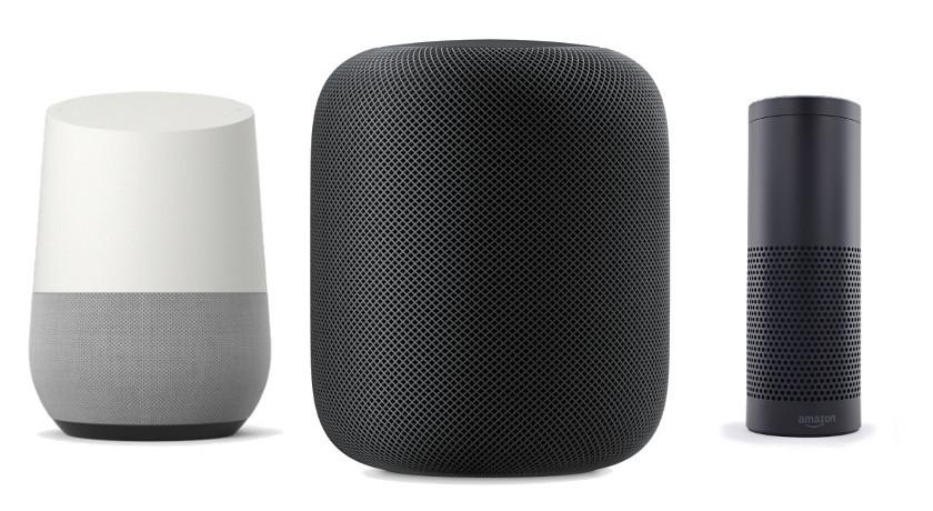 Amazon Echo vs Apple HomePod vs Google Home: features ...