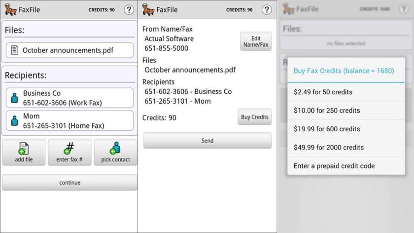 FaxFile - mejores aplicaciones de fax