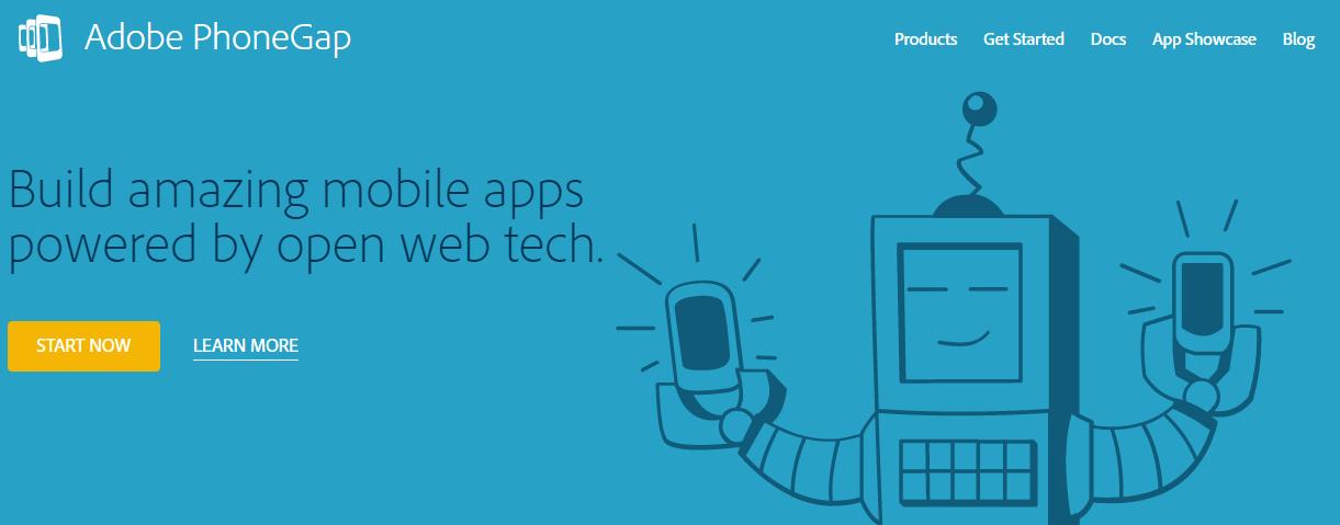 PhoneGap app maker