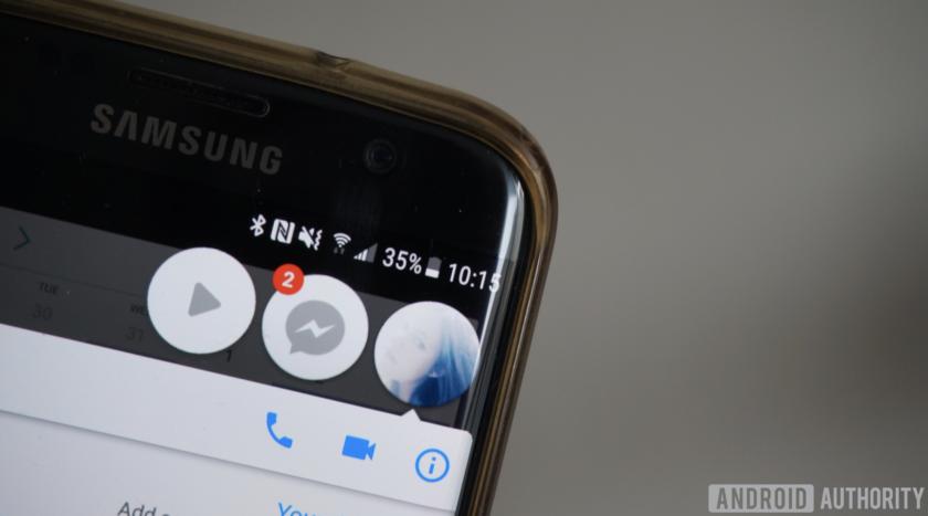 Facebook Messenger app bubble