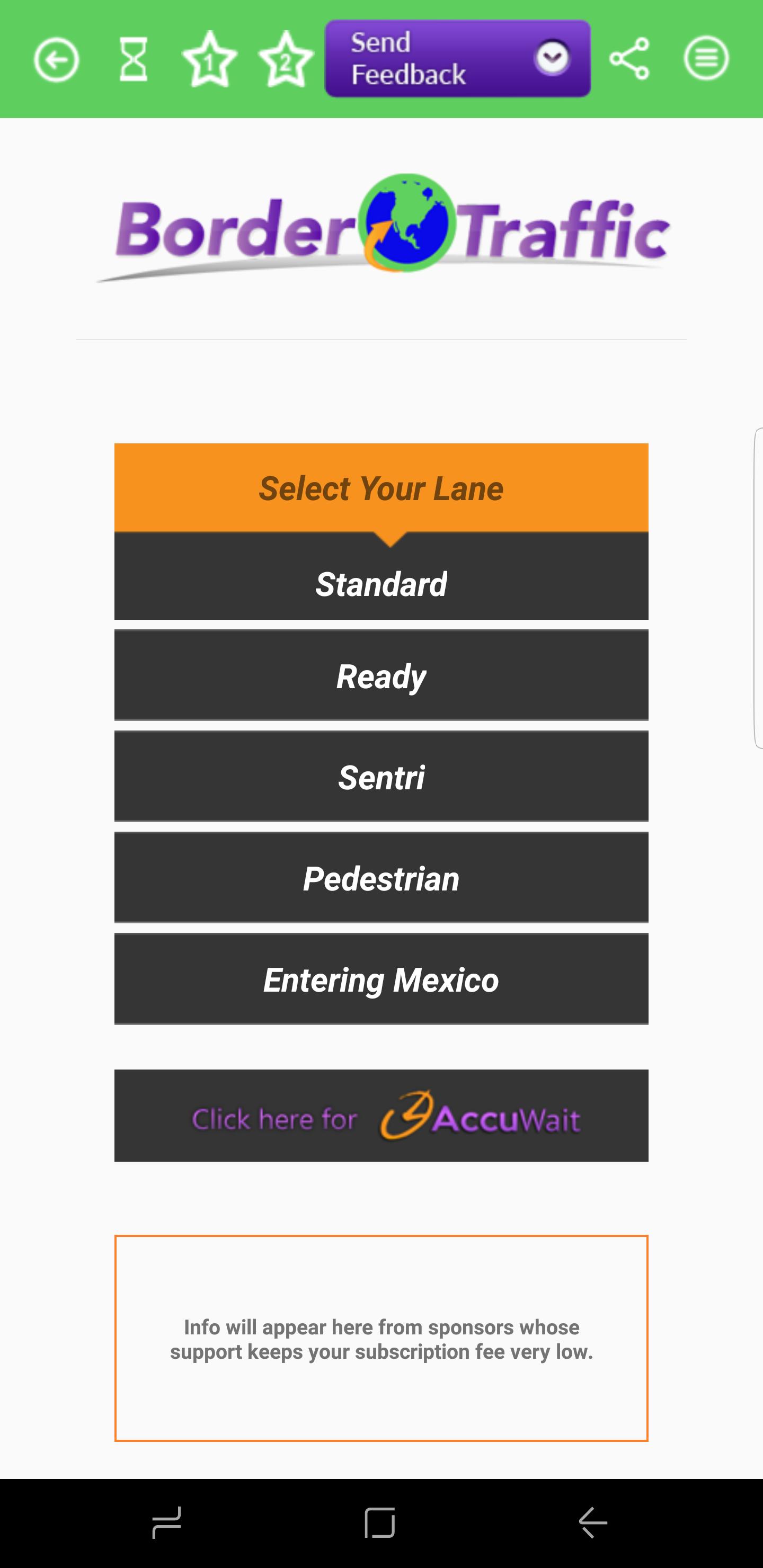 Tijuana border line