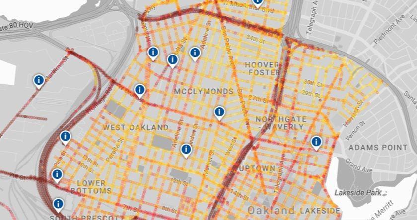 New Hyper-Local Air Pollution Map Can Track Air Quality Per Block