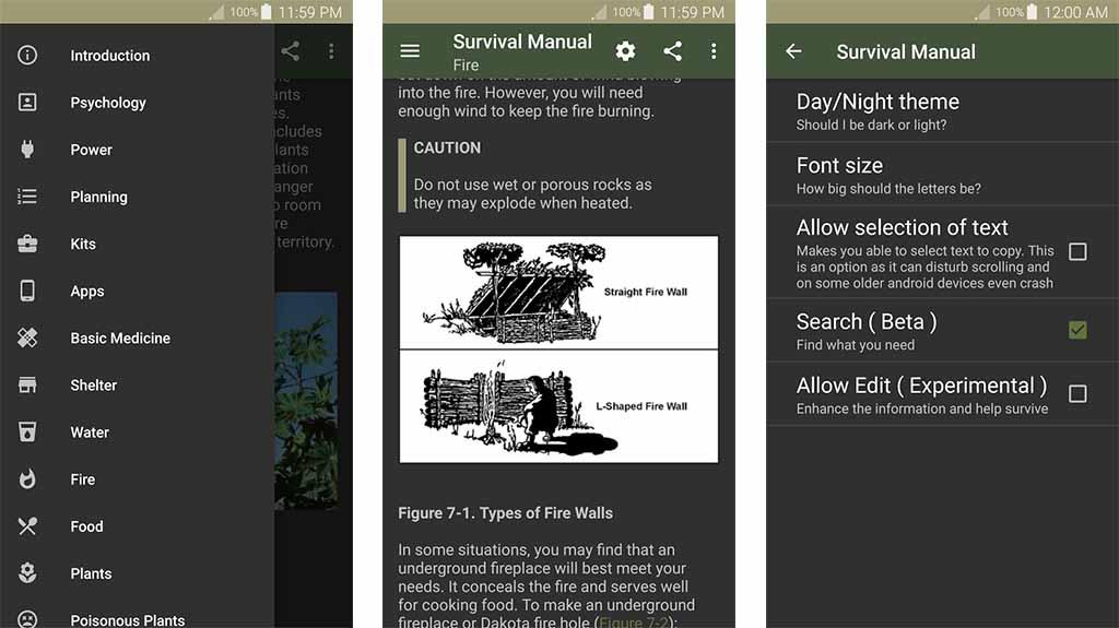 Offline Survival Manual - best nature apps