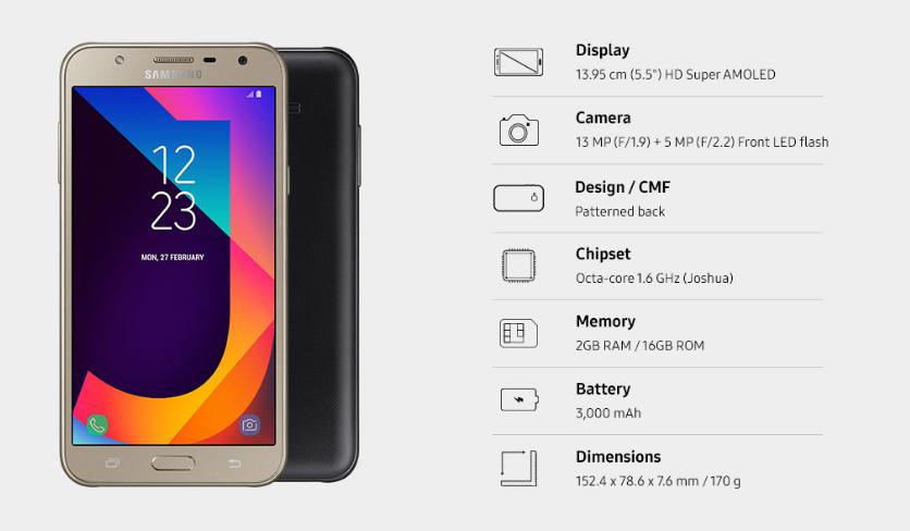 Samsung Galaxy J7 Nxt with 5 5-inch HD Super AMOLED display
