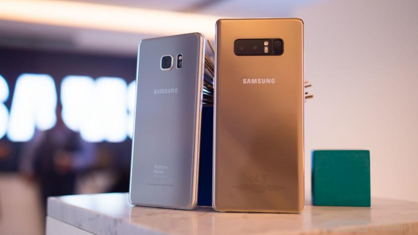 Samsung Galaxy Note 8 colors