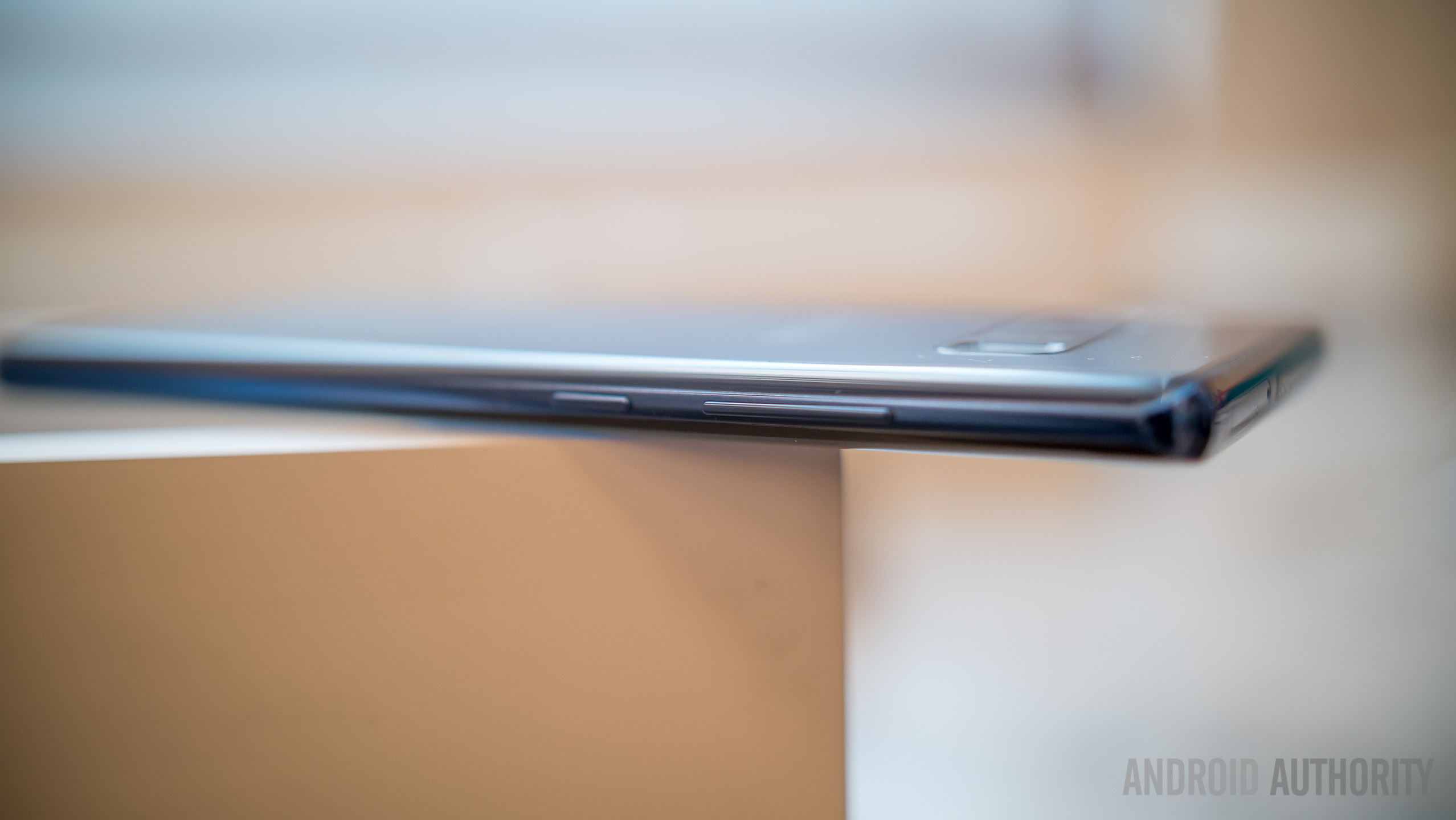 how to take a screenshot on the Galaxy Note 8 using only hardware buttons