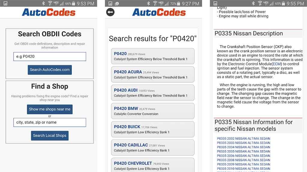 AutoCode - best mechanic apps