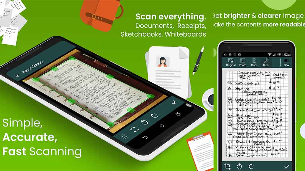 Clear Scan - best document scanner apps