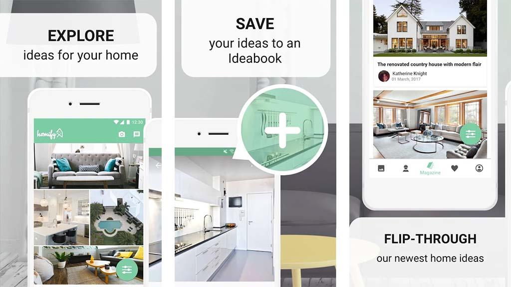 Homify - best home design apps