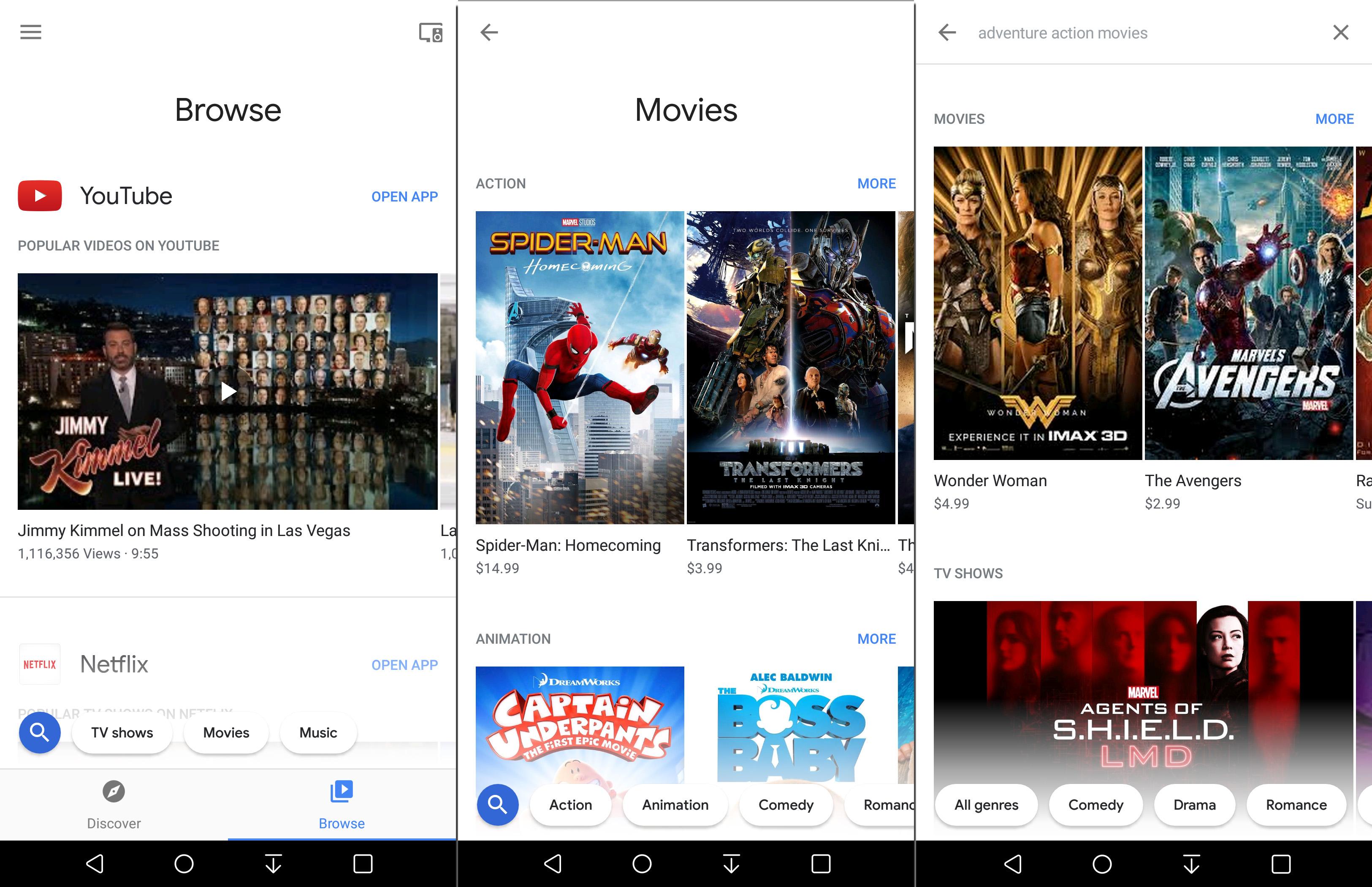 chromecast on android printscreens
