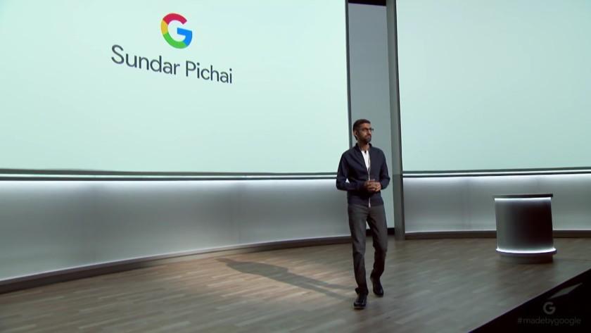 Google CEO Sundar Pichai says artificial intelligence is like fire