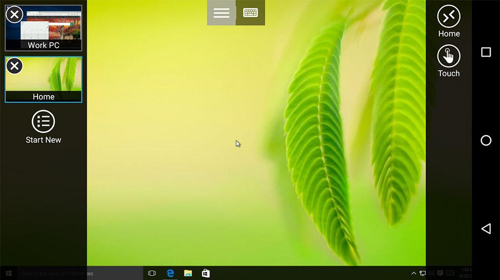 Microsoft Remote Desktop - best screen mirroring apps