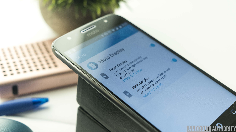 The Moto G5S Plus.