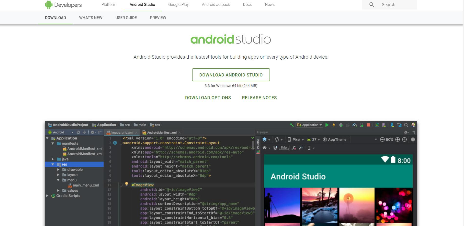 Android Studio 3.3