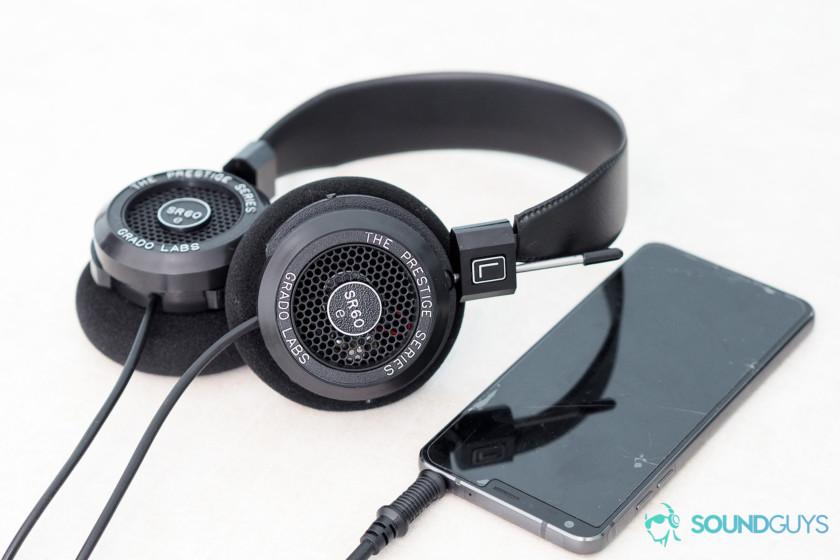 Best headphones under $100. Grado SR60e.