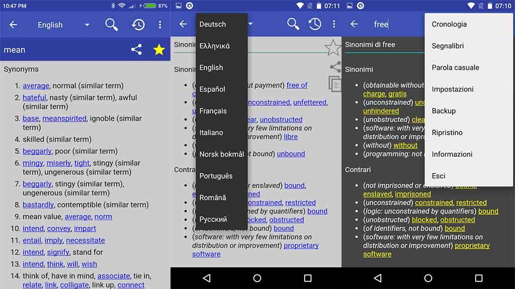 Online Thesaurus - best thesaurus apps