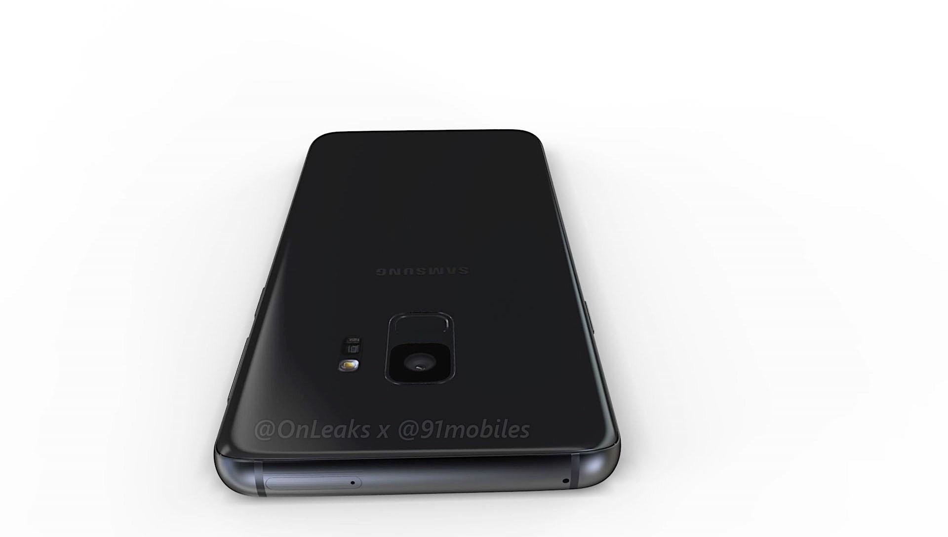 New Leak Allegedly Shows Off Samsung Galaxy S9 Design