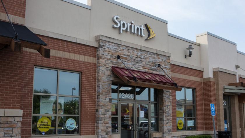A Sprint store