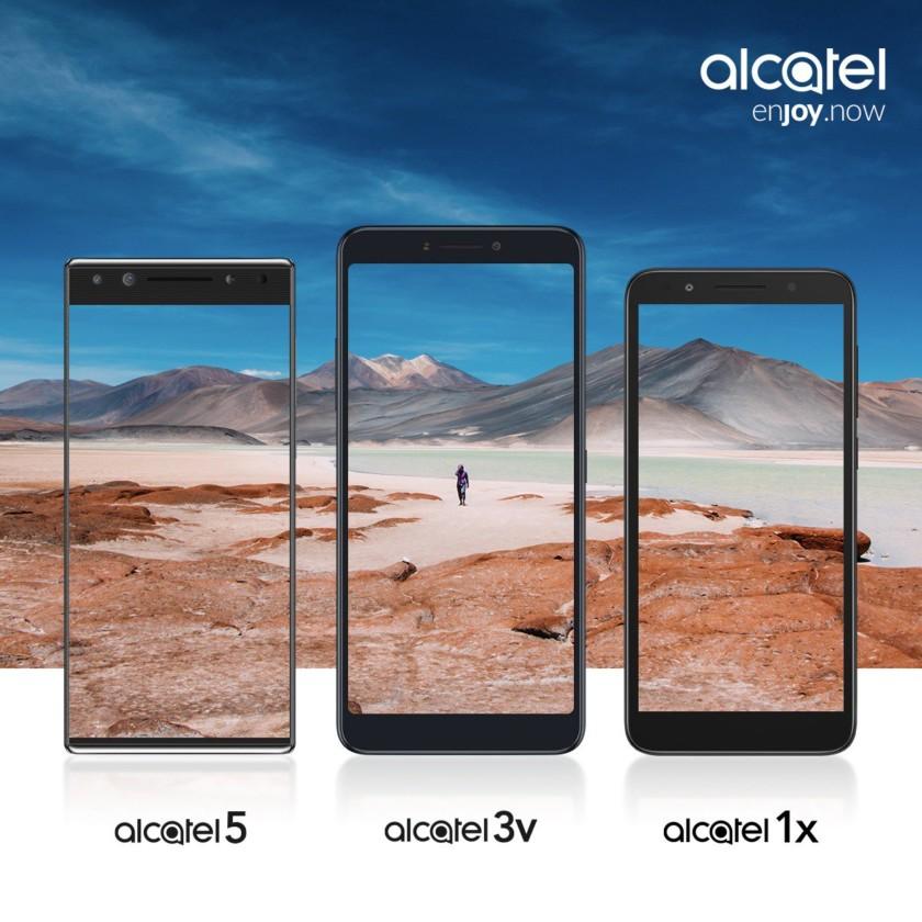 alcatel 2018 lineup