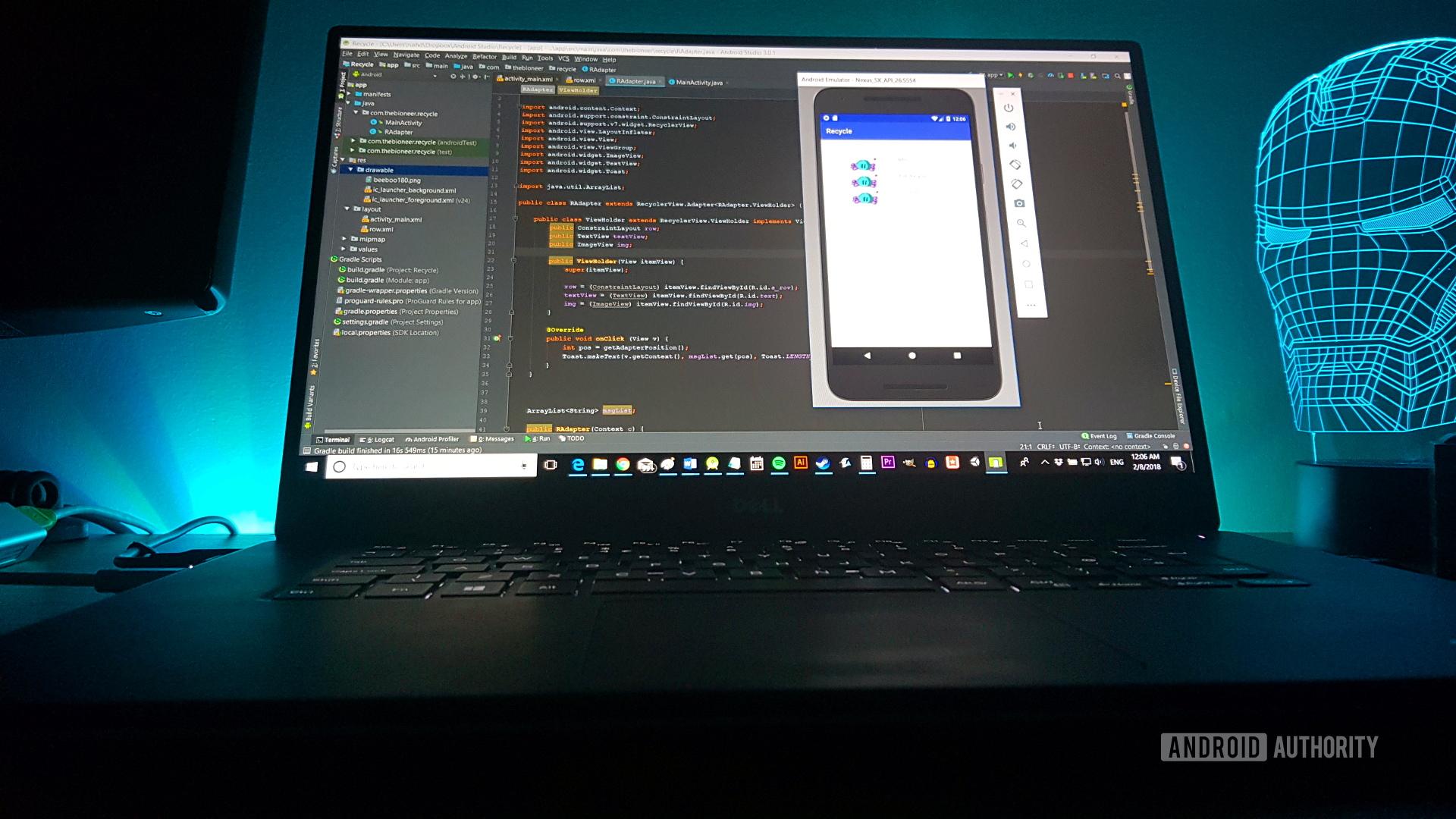 Android Studio XML layout