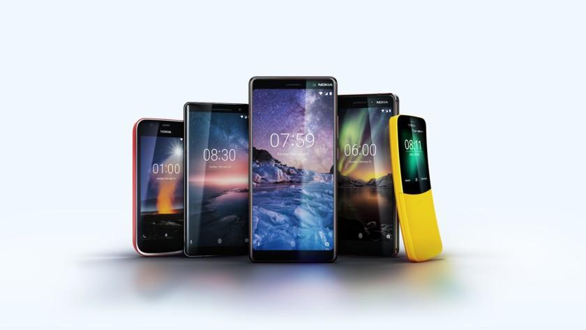 The Nokia lineup