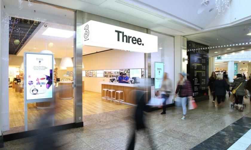 Three 5g uk store logo