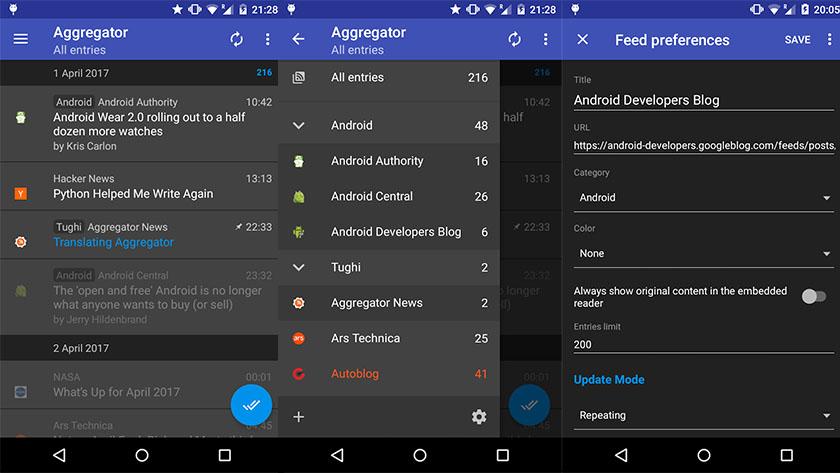 Aggregator - best RSS apps