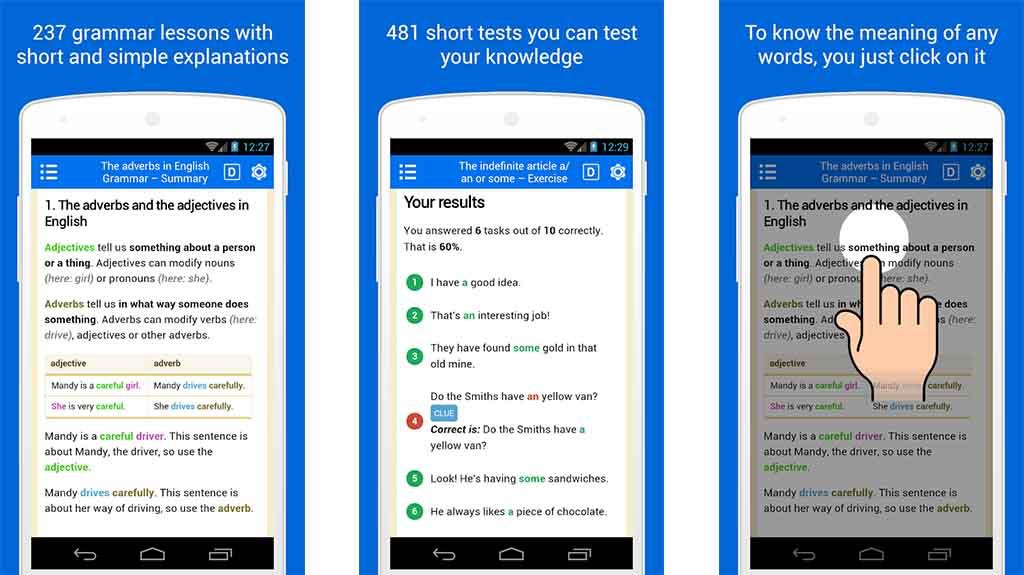 Basic English Grammar - best grammar apps for android
