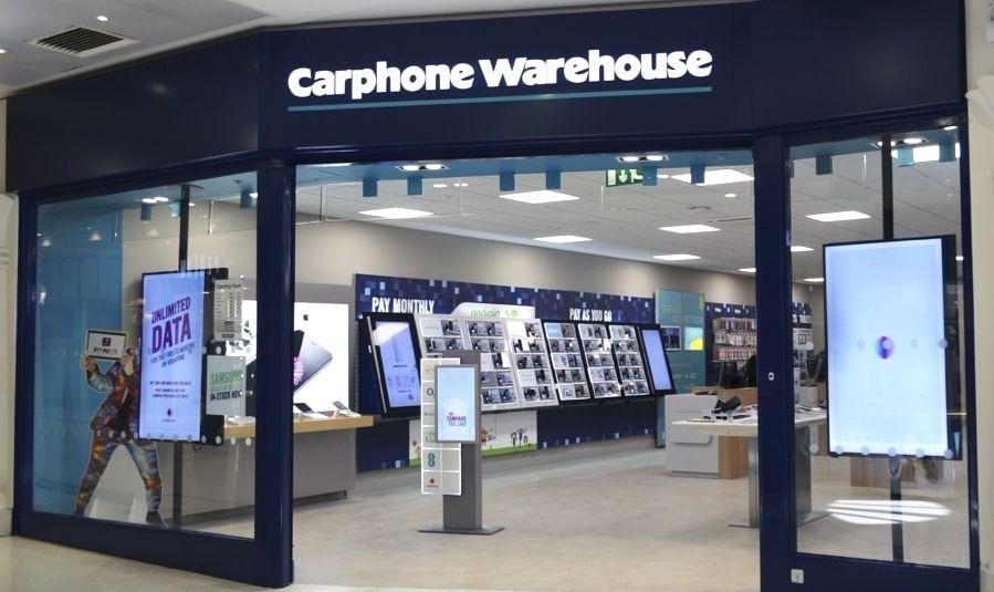 carphone warehous uk store