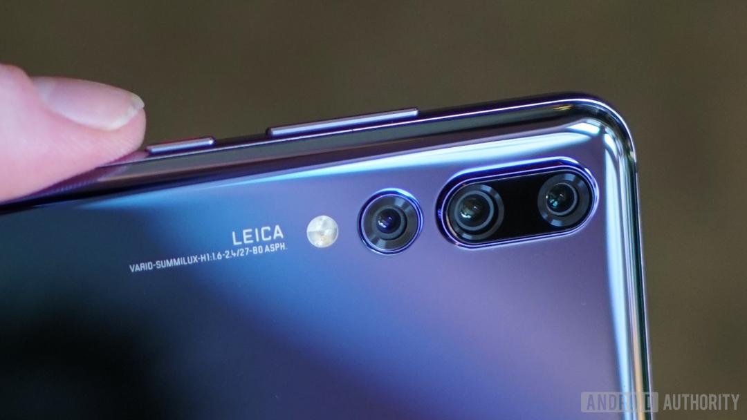 Triple rear camera - Huawei P20 Pro