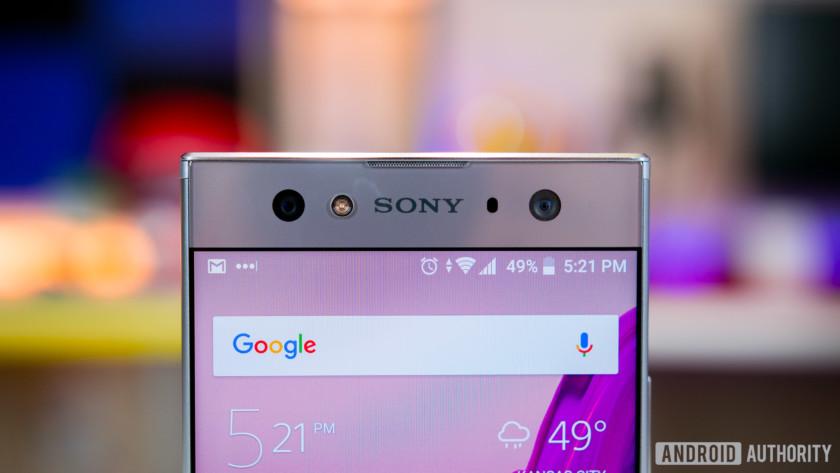 Sony Xperia XA2 Ultra front camera
