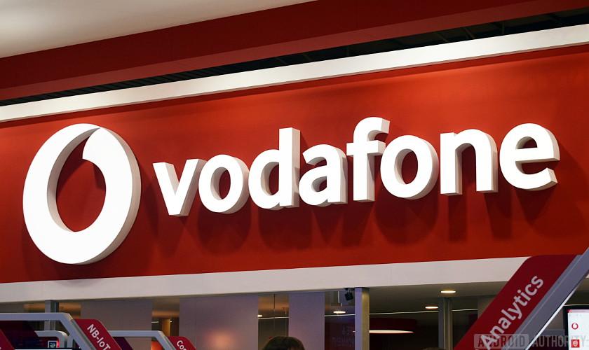 Vodafone 5g uk store logo