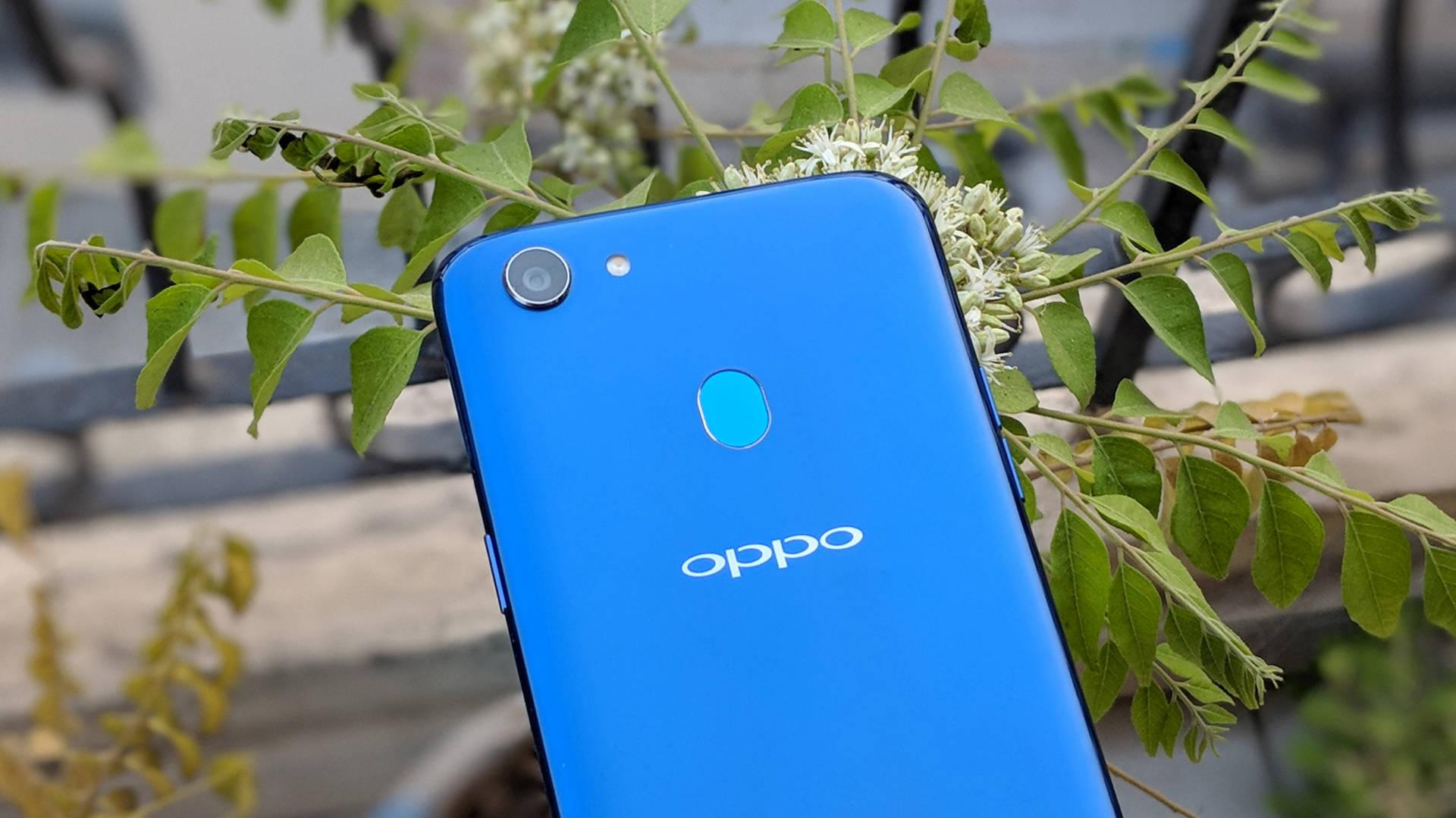 OPPO F5 camera shutter