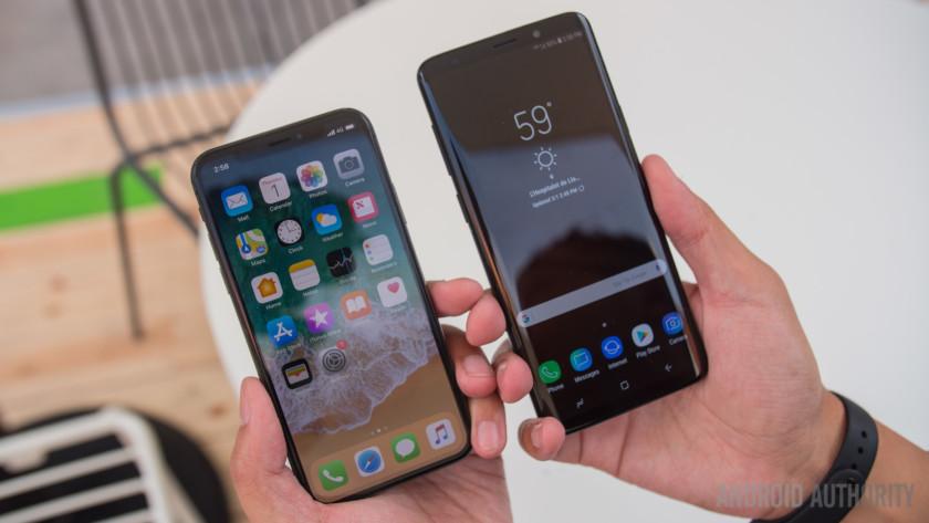 Samsung Galaxy S9 vs Apple iPhone X - How to Choose? - Aursen