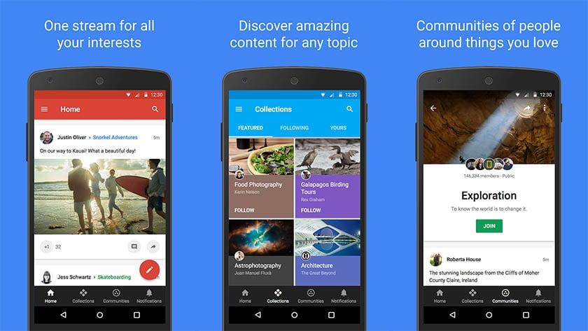 Google+ - most useless apps