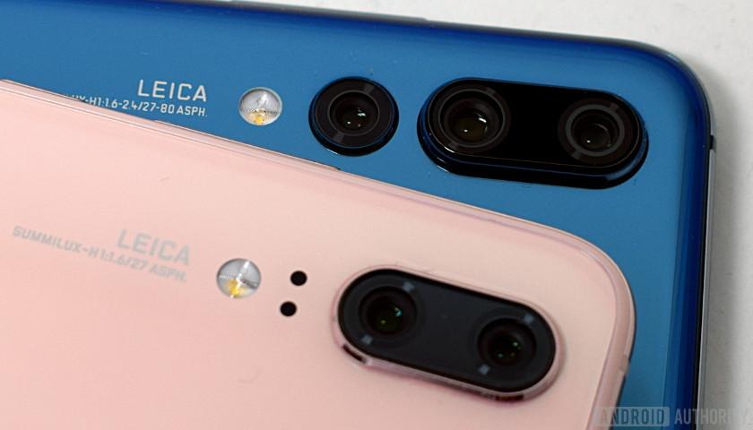 Huawei P20 vs P20 Pro cameras