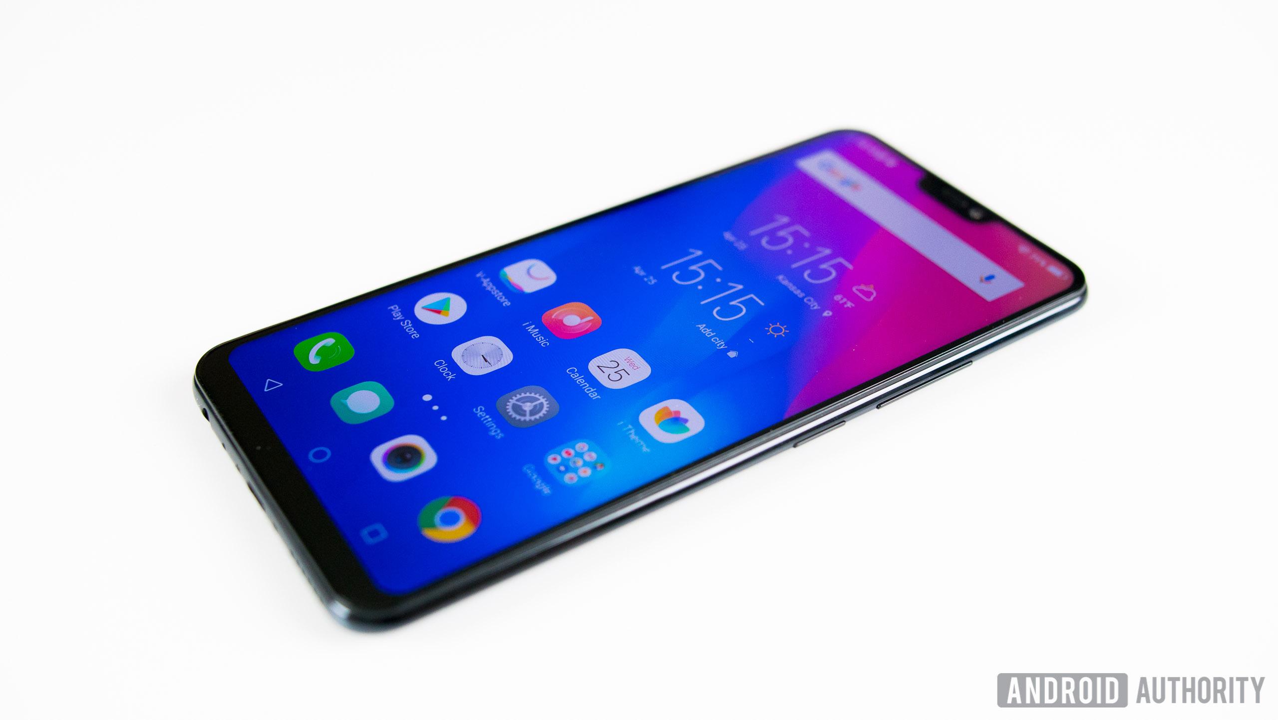 Vivo V9 home screen apps