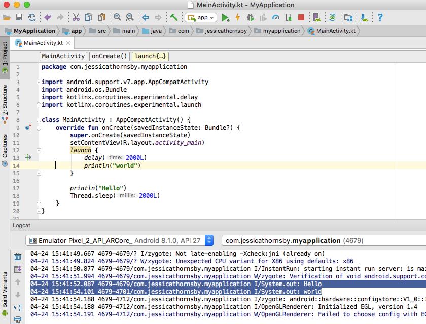 - kotlin coroutines suspending functions - Simplify asynchronous programming with Kotlin's coroutines