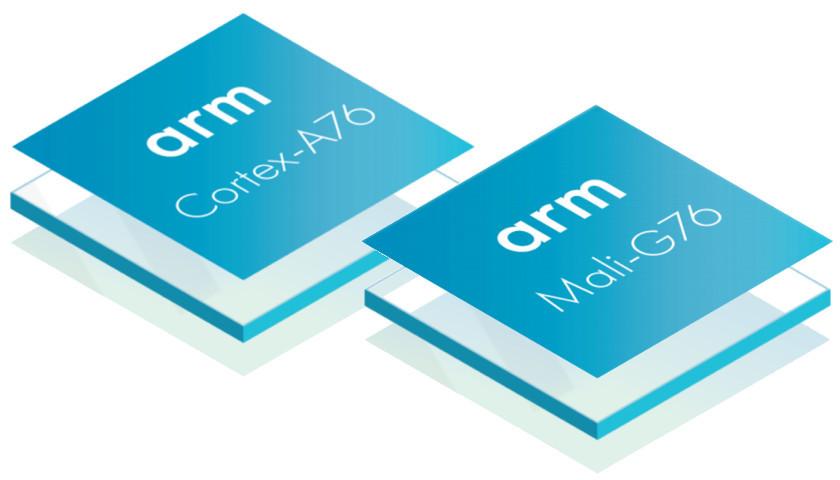 Cortex-A76 Mali-G76 Arm
