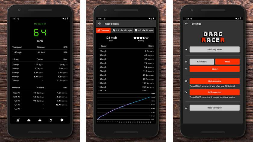 Drag Racer - best speedometer apps