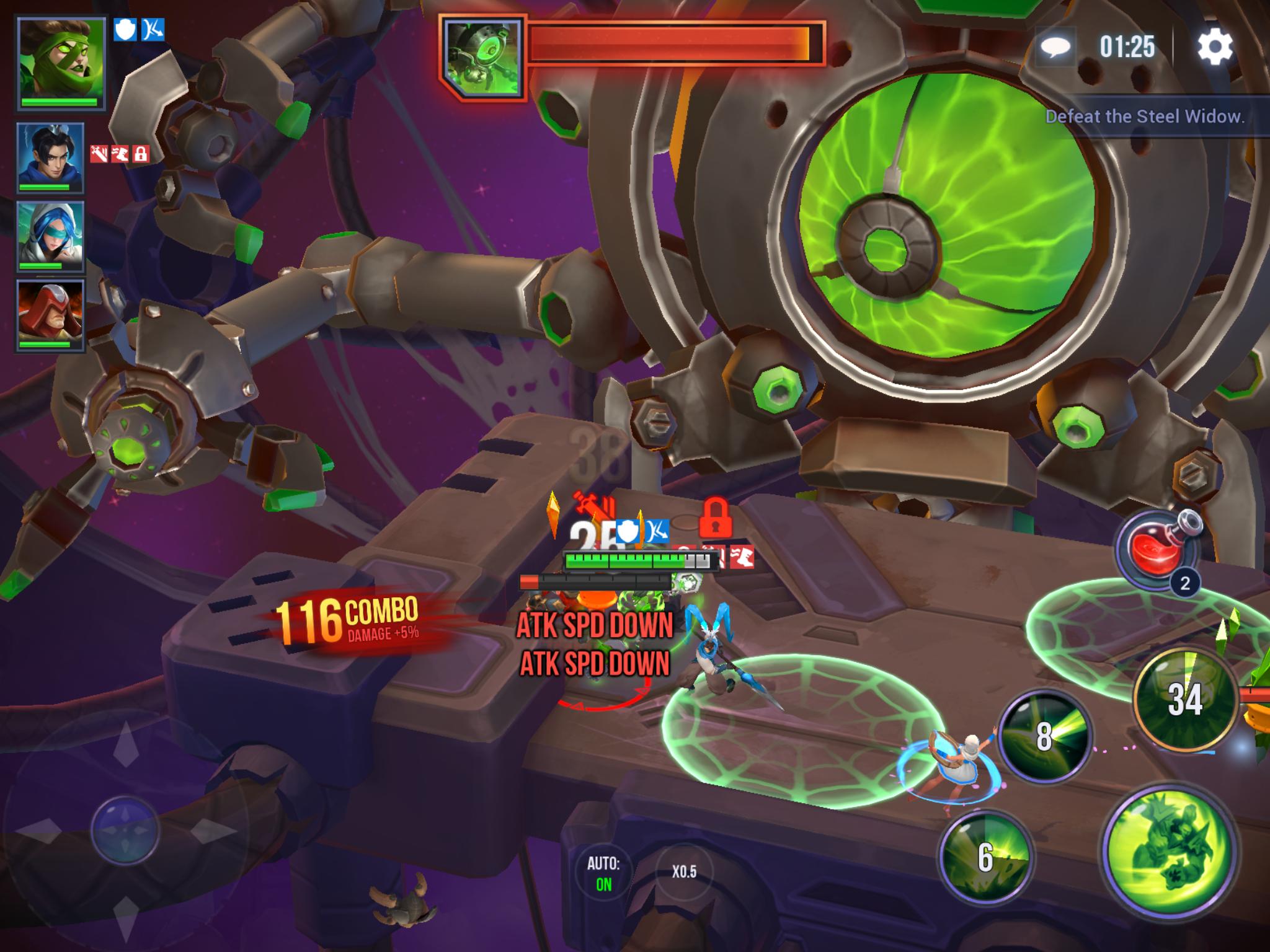 dungeon hunter champions boss battles
