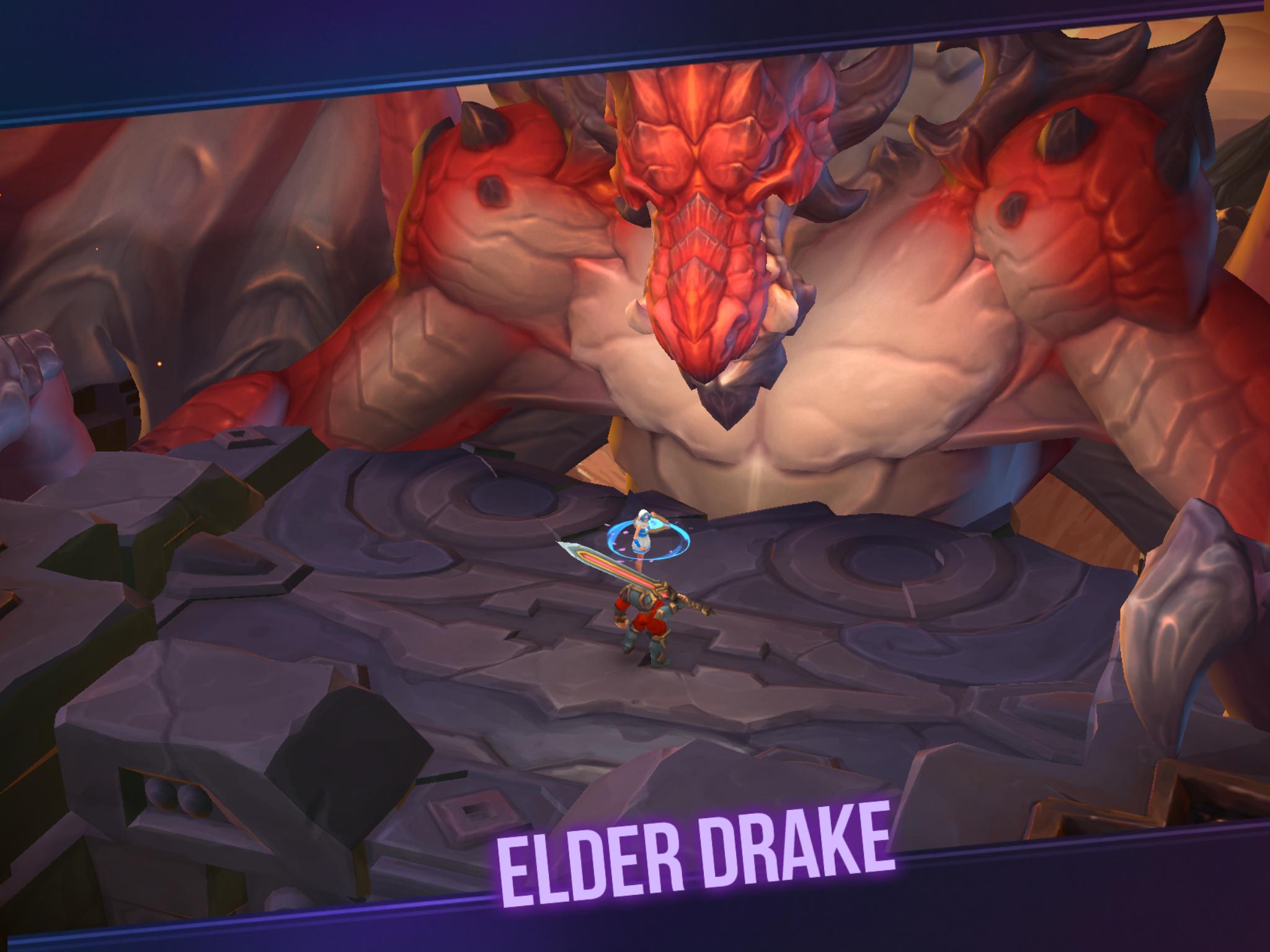 dungeon hunter champions elder drake