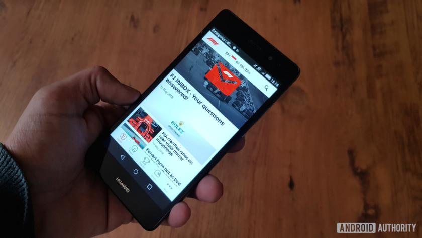 F1 news apps