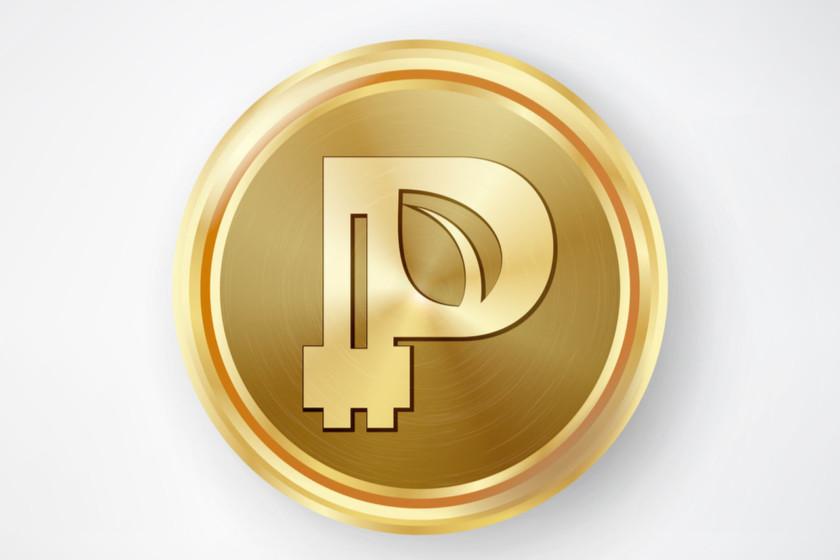 Peercoin coin logo