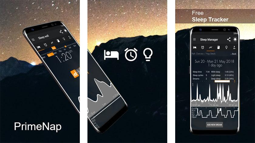 PrimeNap - best sleep tracker apps