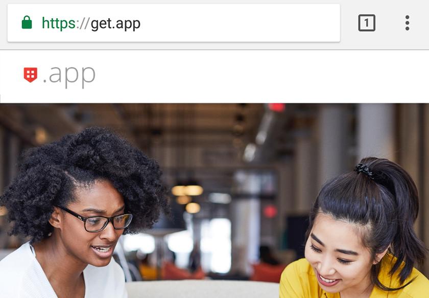 google app domain