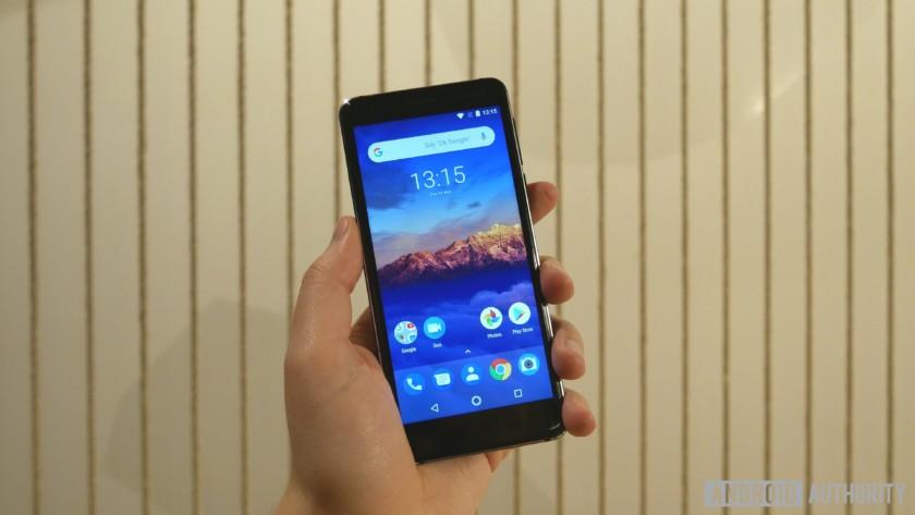 Nokia 3.1 smartphone